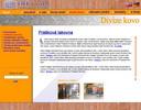 Dita v.d. - návrh webu